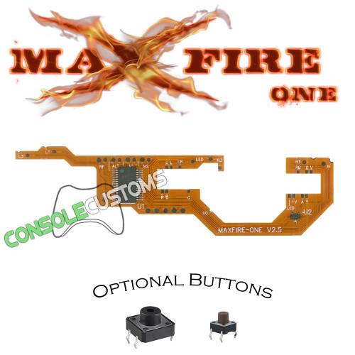 Xbox One MaxFire-ONE V2.5 PCB Rapid fire Mod Kit