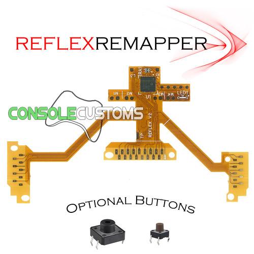 PS4 TrueFire-ReFLEX button remapping flex mod