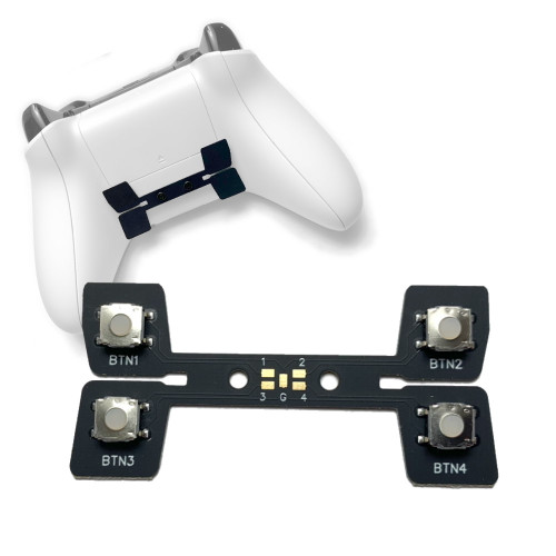 Xbox One controller with 4 button paddle