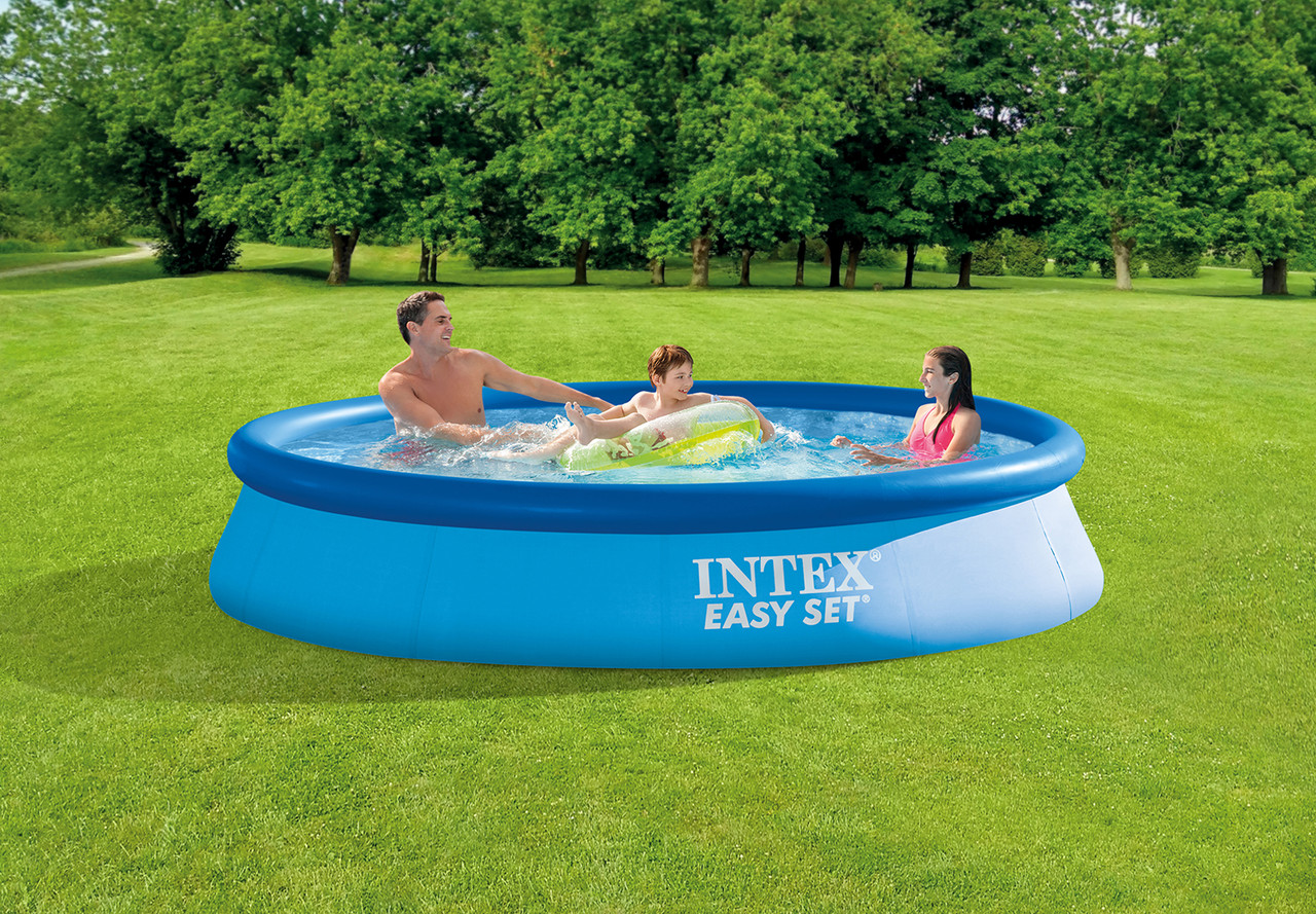 10ftx3oin Adults 12ft X 30in Outdoor Metal Frame Pool With Piston For Kiddie Easy Set For Backyard Swimming Pool Above Ground Summer Water Party Kids Swimming Pools Kolenik Framed Swimming Pools