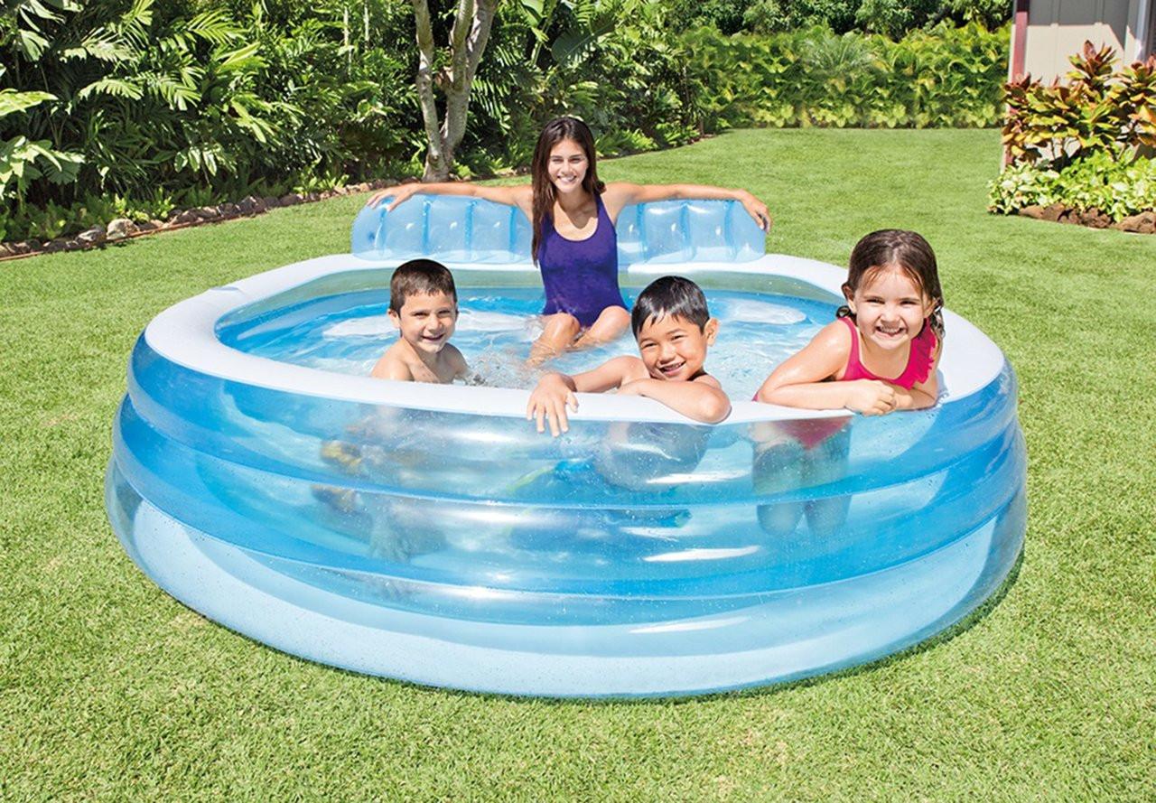 Intex Swim Center Family Inflatable Pool