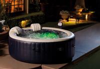 The portable Intex PureSpa Plus™ Bubble Massage Spa