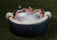 Pamper yourself in relaxing heated water surrounded by soothing bubble jets