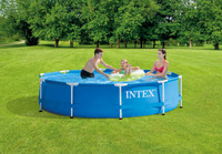 10ft X 30in Metal Frame Pool Set
