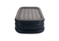 16.5in Twin Deluxe Pillow Rest Airbed with Built-In Electric Pump