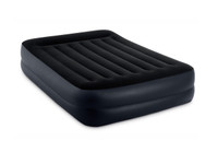 16.5in Queen Dura-Beam Pillow Rest Raised Airbed with Built-In Electric Pump