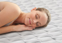 20in Queen Dura-Beam Deluxe Supreme Airflow Airbed with Internal Pump