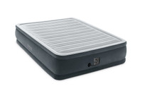 18in Queen Comfort Plush Elevated Airbed with Internal Pump