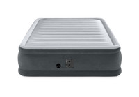 18in Queen Dura-Beam Comfort-Plush Elevated Airbed with Internal Pump