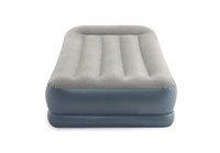12in Twin Dura-Beam Pillow Rest Mid-Rise Airbed with Internal Pump