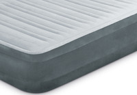 13in Twin Dura-Beam Comfort-Plush Airbed with Internal Pump