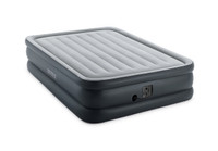 20in Queen Dura-Beam Essential Rest Airbed with Internal Pump