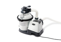 110-120V Krystal Clear Sand Filter Pump (pump flow rate: 1,200 Gph) with Hydro Aeration Technology