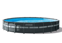 24ft X 52in Ultra XTR Frame Pool Set with Sand Filter Pump