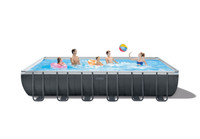Maximize your pool experience with our largest Ultra XTR Frame pool.