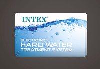 Equipped with built-in hard water treatment system
