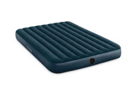 10in Queen Dura-Beam Midnight Green Downy Airbed