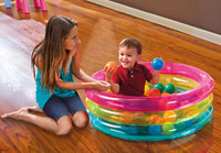 Classic 3-Ring Baby Ball Pit