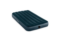 10in Twin Dura-Beam Midnight Green Downy Airbed