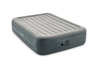 18in Queen Dura-Beam Essential Rest Airbed with Built-in Electric Pump