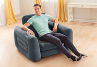 Intex Pull-Out Chair is designed for relaxing just about anywhere, whether you are at home.