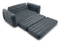 The velvety soft surface provides added comfort, perfect for sitting or sleeping.