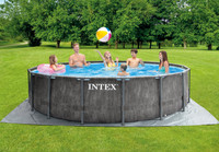 15ft X 48in Greywood Prism Frame Pool