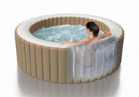 Standard spa interior construction has been enhanced with lightweight, high-strength fibers for amazing durability and comfort.