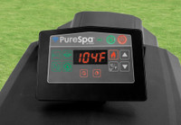 rechargeable, wireless touch display control panel with timer function