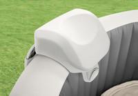 Includes 2 premium PU foam headrests