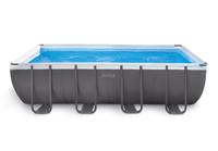 18ft X 9ft X 52in Ultra Frame Rectangular Pool Set, 26351W