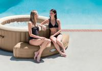 Inflatable Bench, Sahara Tan