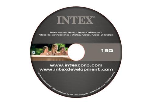 11974, DVD (15q) for Bubble Spas