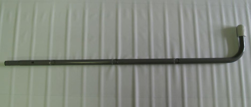 """12670B, A Side Lower J-Leg (Marked """"B"""") for 48in Removeable Steps Ladder"""