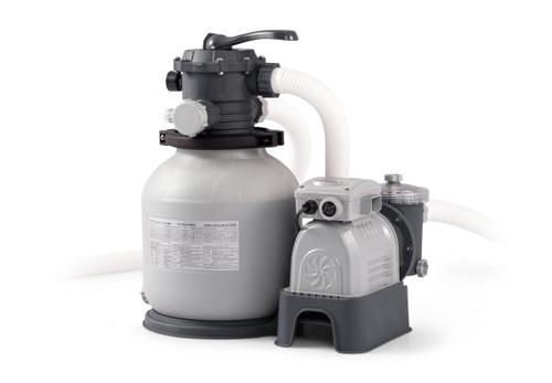 2100 Gph Krystal Clear Sand Filter Pump, 110-120V with GFCI (2018)
