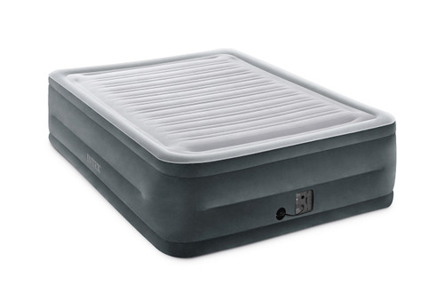 22in Queen Dura-Beam Comfort-Plush Airbed with Internal Pump