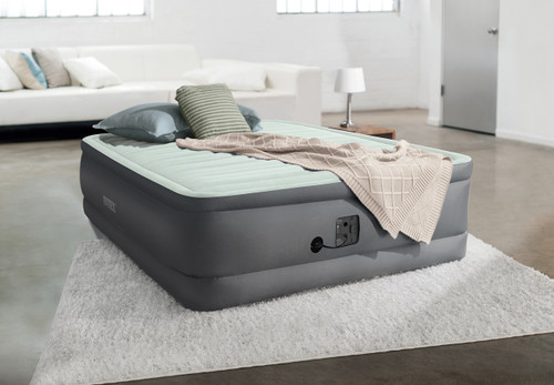 18in Full Dura-Beam PremAire I Elevated Airbed with Internal Pump