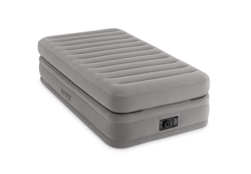 20in Twin Dura-Beam Prime Comfort Elevated Airbed with Internal Pump (2019)