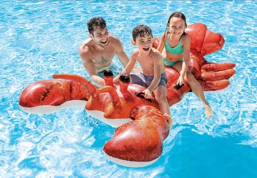 Intex Inflatable Wave Rider Jet Ride On Beach Toy Lilo Swimming Pool Float Raft
