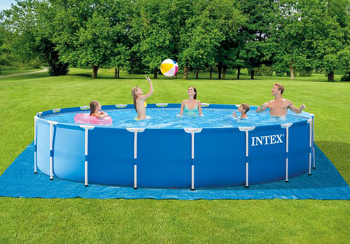 18ft X 48in Metal Frame Pool Set