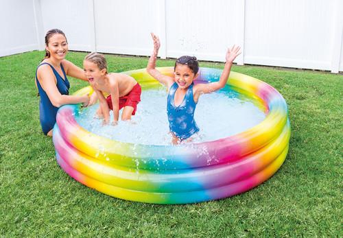 Rainbow Ombre Pool
