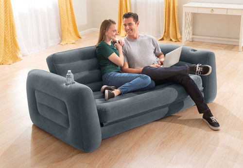 A versatile sofa that offers an affordable and comfortable sleeping solution for any home.