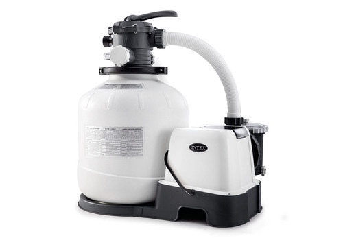Krystal Clear Sand Filter Pump & Saltwater System CG-26679, 110-120V with GFCI