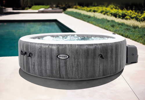 Intex PureSpa Greywood Deluxe 6-Person Spa Set