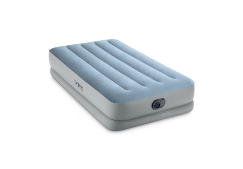 14in Twin Dura-Beam Raised Comfort Airbed with QuickFill Plus Internal Pump