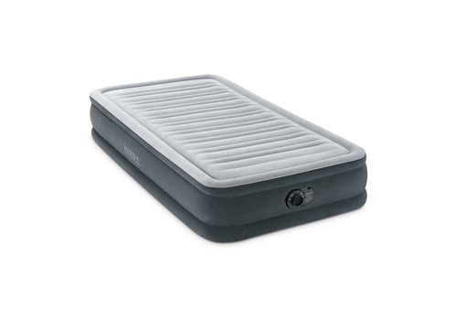 13in Twin Dura-Beam Comfort-Plush Airbed with QuickFill Plus Internal Pump