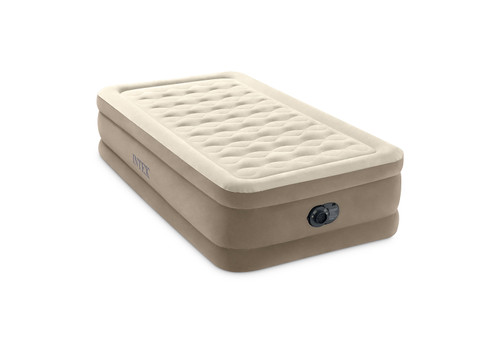 18in Twin Dura-Beam Ultra Plush Airbed with QuickFill Plus Internal Pump