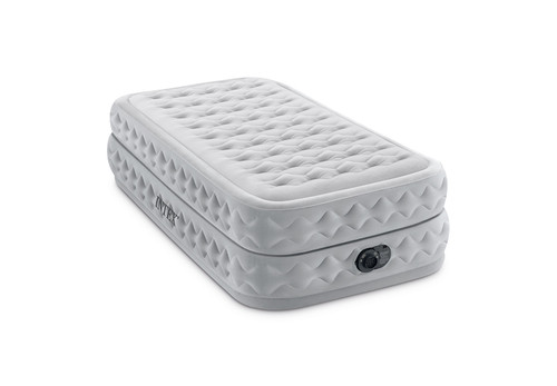20in Twin Dura-Beam Supreme Air-Flow Airbed with QuickFill Plus Internal Pump