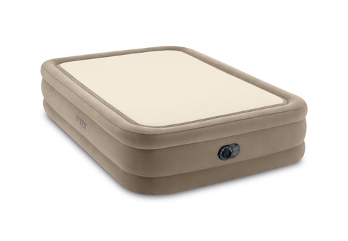 20in Queen Dura-Beam ThermaLux Airbed with QuickFill Plus Internal Pump