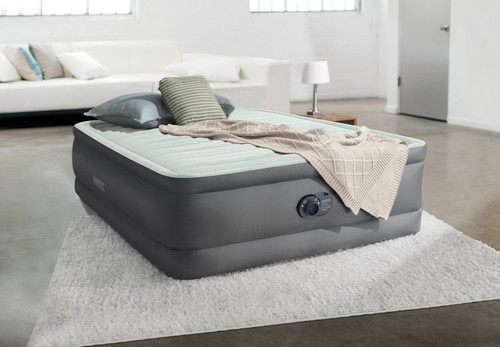 18in Full Dura-Beam PremAire I Elevated Airbed with QuickFill Plus Internal Pump